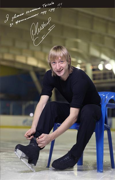 Двукратный олимпийский чемпион, трёхкратный чемпион мира, десятикратный чемпион России, тренер фигурного катания - Евгений Плющенко