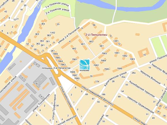 Расширенную карту проезда