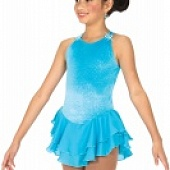 010 Ice Shimmer Dress - Sky Blue